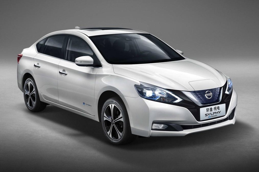 Nissan Sylphy Zero-Emission Sedan Based On Leaf EV Revealed