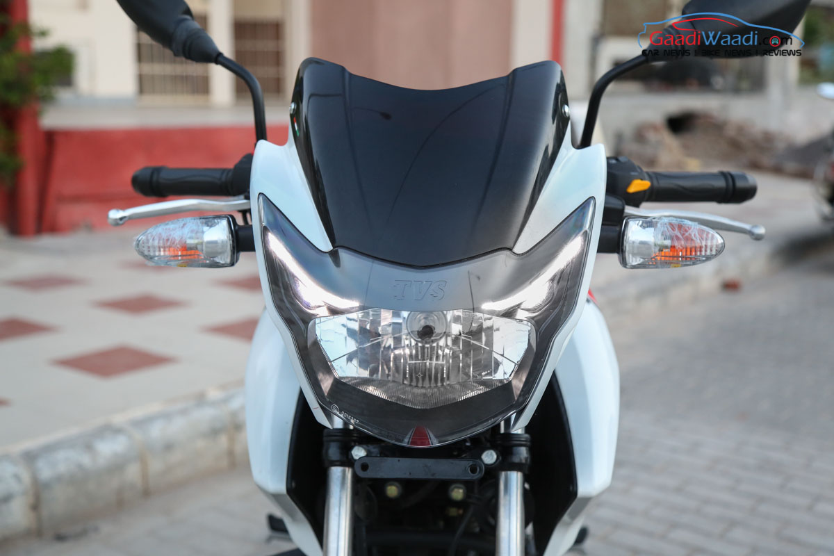 TVS Apache RTR 160 White Race Edition Launched In India At
