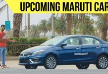 upcoming maruti cars in india