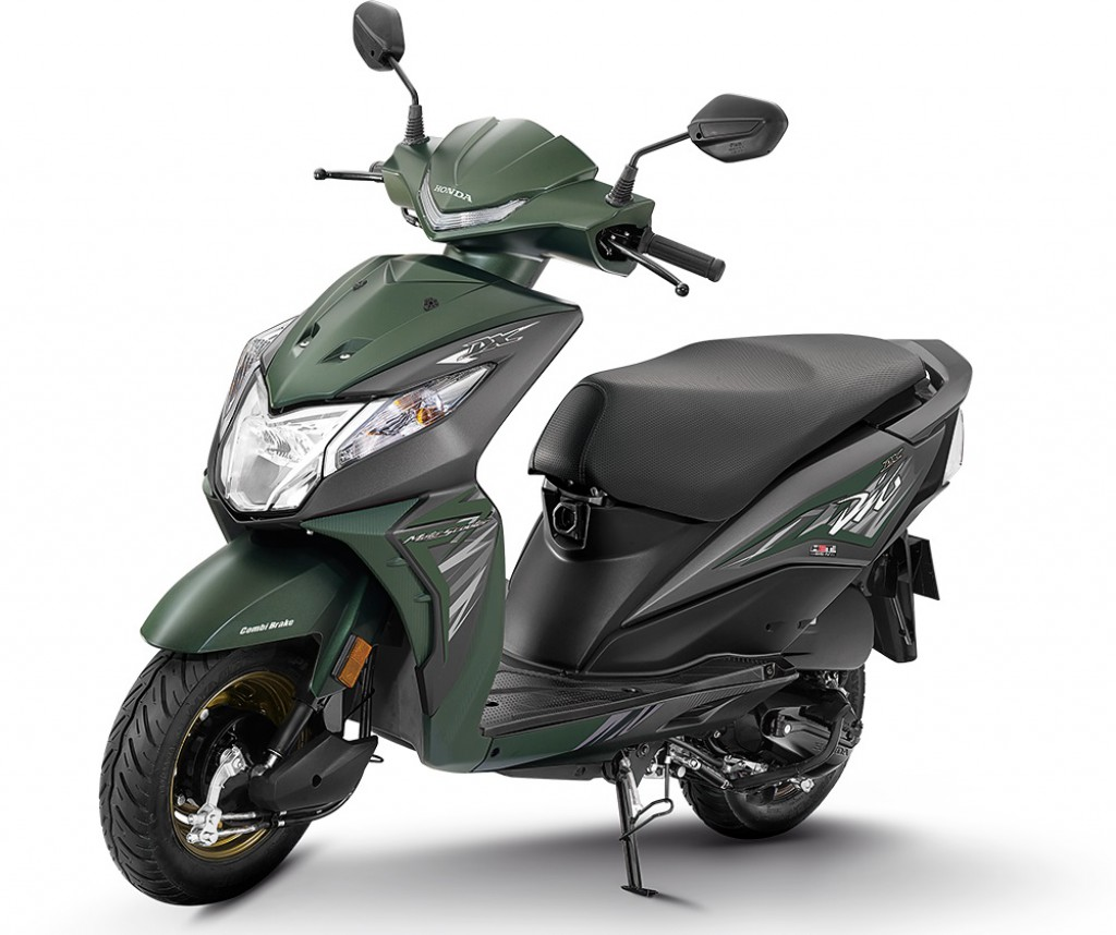 Dio 2018 Model >> Honda Dio Deluxe Variant Launched In India At Rs. 53,292