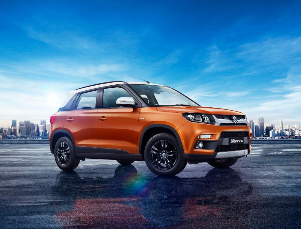2018 maruti vitara brezza amt launched in india at rs lakh. Black Bedroom Furniture Sets. Home Design Ideas