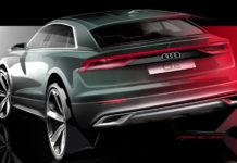 2019 Audi Q8 Design Sketch_