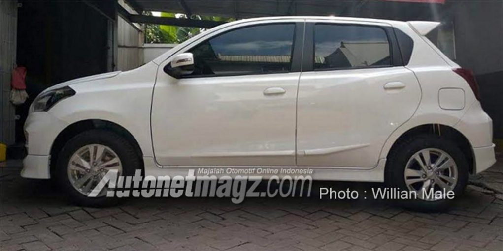 2019 Datsun Go Facelift Spied With Exterior Changes And CVT Badge 2