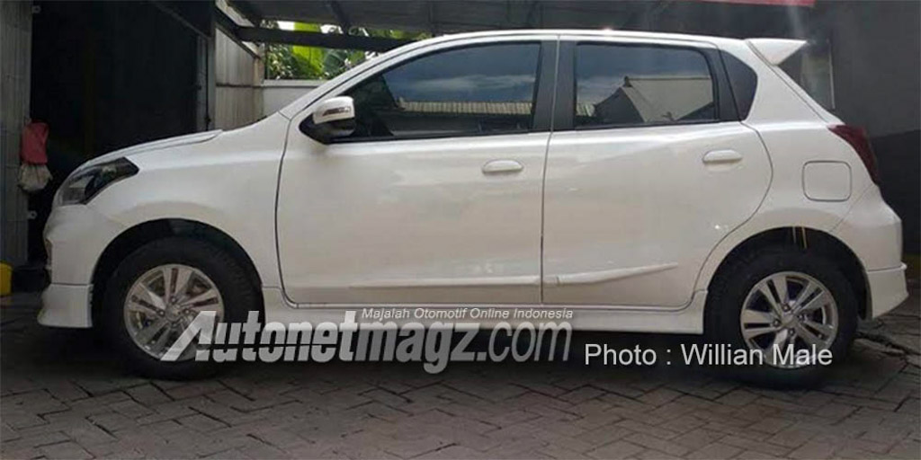 Datsun Go Facelift Spied With Exterior Changes And CVT Badge