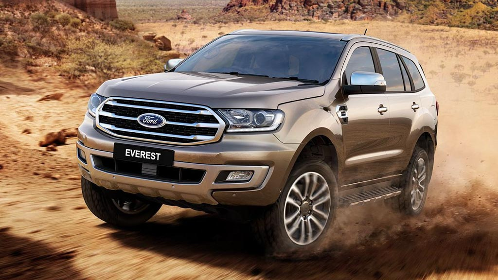 Ford Everest revealed for Australia, on sale fourth quarter