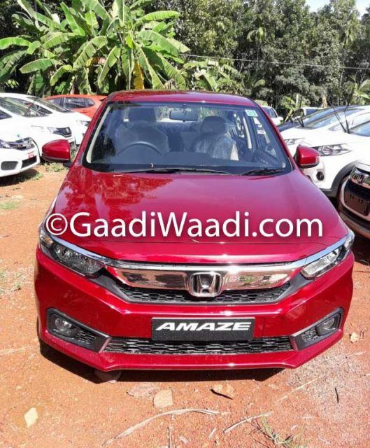 All-New Honda Amaze Starts Reaching Dealer Yards Ahead Of Launch 1