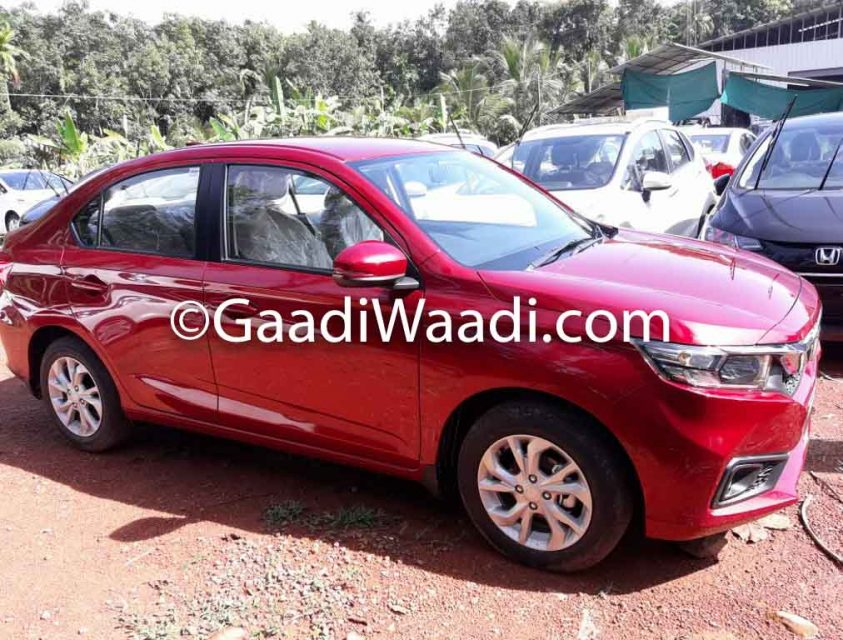 All-New Honda Amaze Starts Reaching Dealer Yards Ahead Of Launch 2