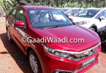 All-New Honda Amaze Starts Reaching Dealer Yards Ahead Of Launch