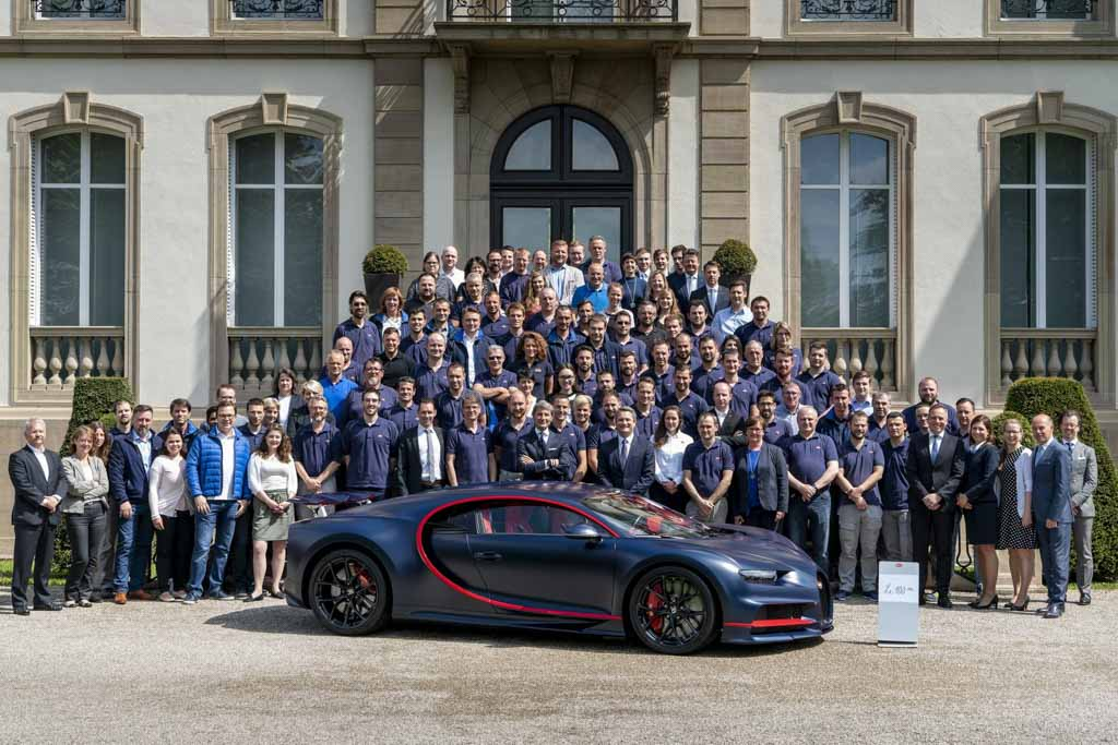 Bugatti 100th Chiron And It Costs Rs. 22.86 Crore