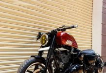 Bulleteer-Agira-based-on-Royal-Enfield-Thunderbird-350