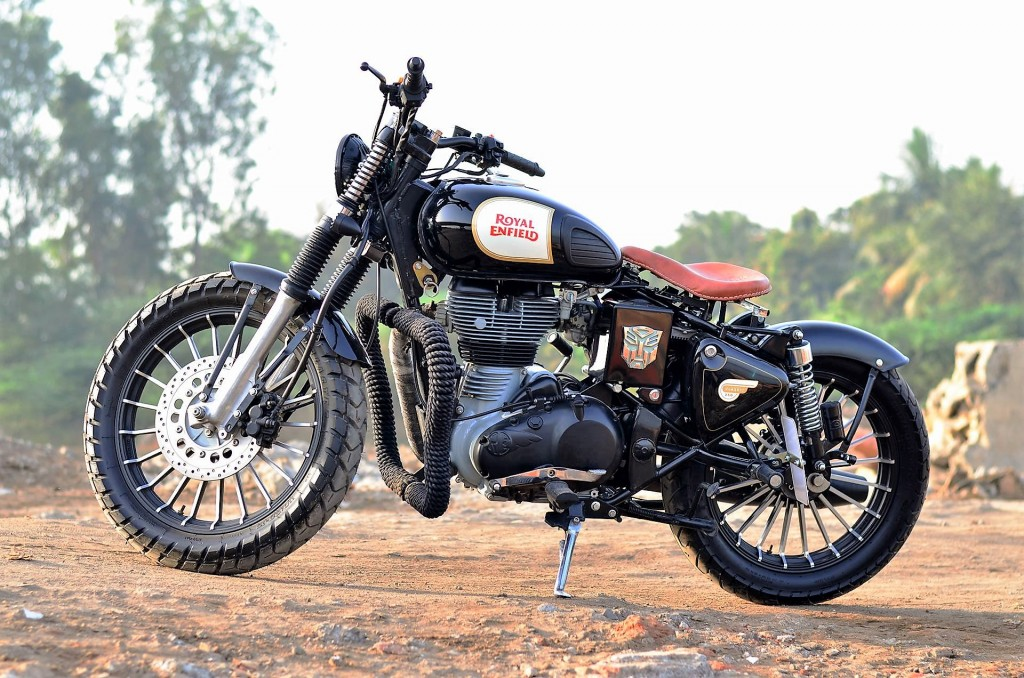 This Modified Royal Enfield Classic 500 By Singh Customs