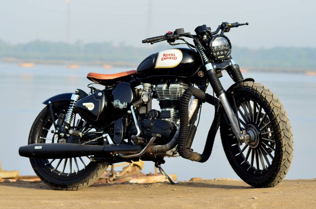 This Modified Royal Enfield Classic 500 By Singh Customs Is Elegant
