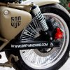 Dirt Machine Custom's Combat Based On Classic 500 Is Alluring 2
