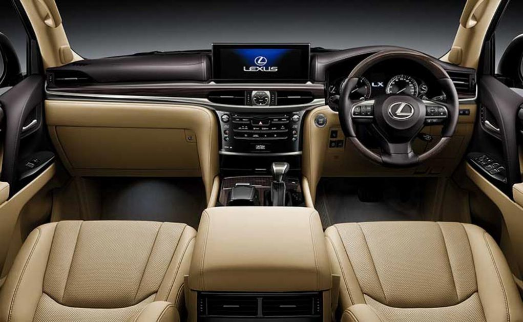 Flagship Lexus LX 570 Launched In India 1