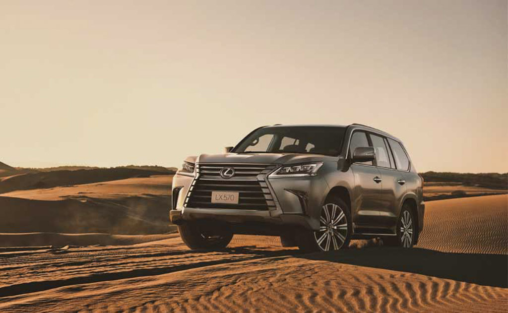 Flagship Lexus LX 570 Launched In India