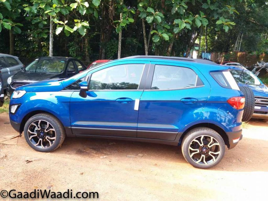 Ford EcoSport S And Signature Edition Images Explain New Features 2