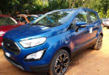Ford EcoSport S And Signature Edition Images Explain New Features