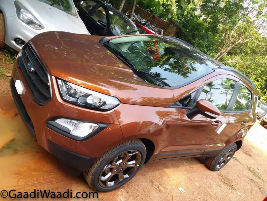Ford EcoSport S And Signature Edition Images Explain New Features 4