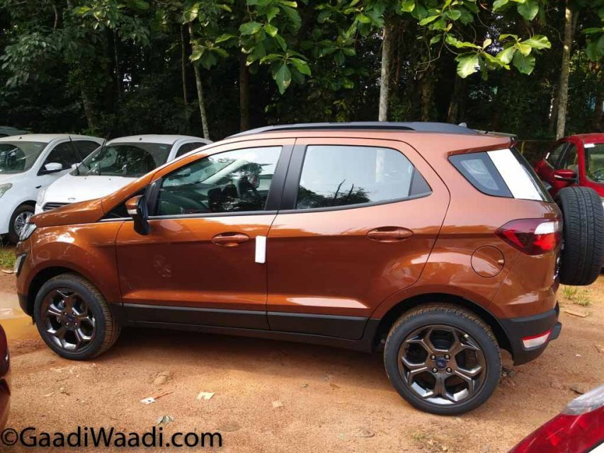 Ford EcoSport S And Signature Edition Images Explain New Features 5