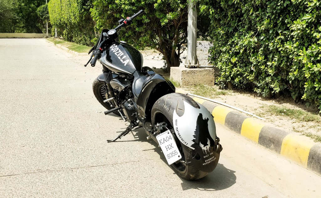 RE Thunderbird 500 Custom With Ducati Diavel Design Cues Is