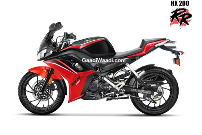 Hero HX200 RR Rendered