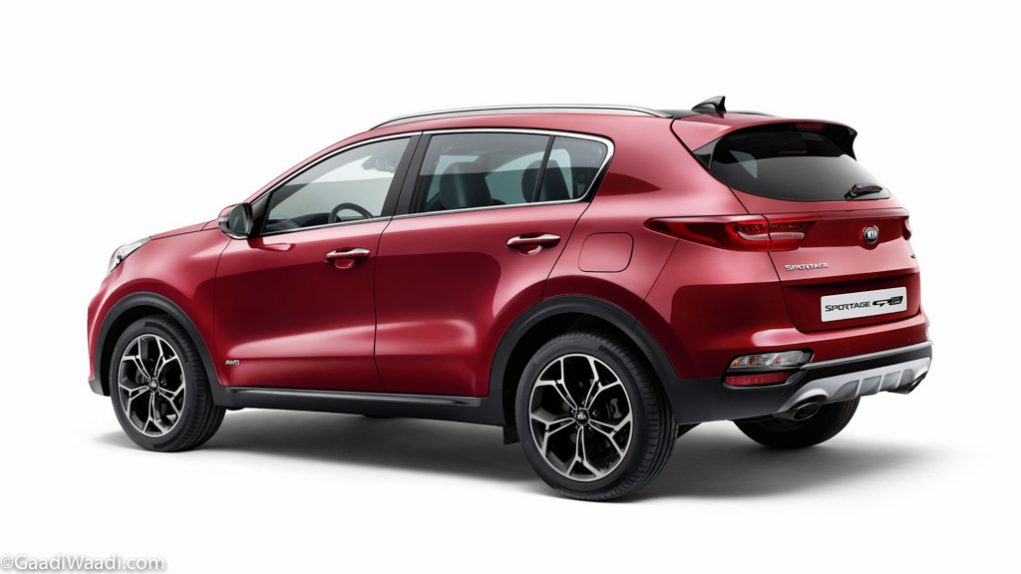India-Bound 2019 Kia Sportage Side