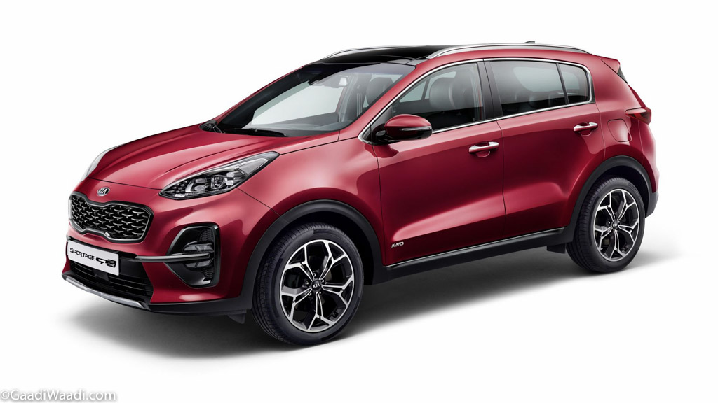 India-Bound 2019 Kia Sportage_