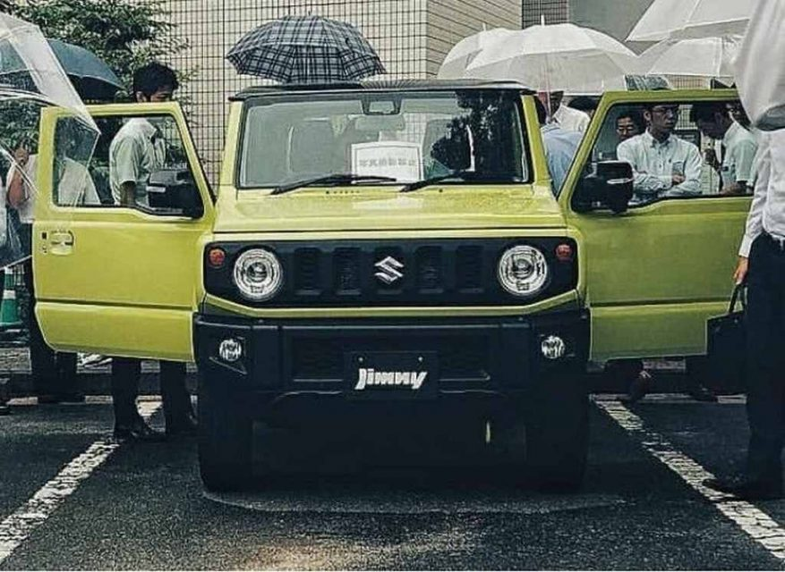 India-Bound 2019 Suzuki Jimny