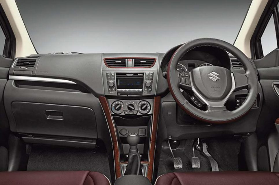 Maruti Suzuki Ertiga Limited Edition Interior