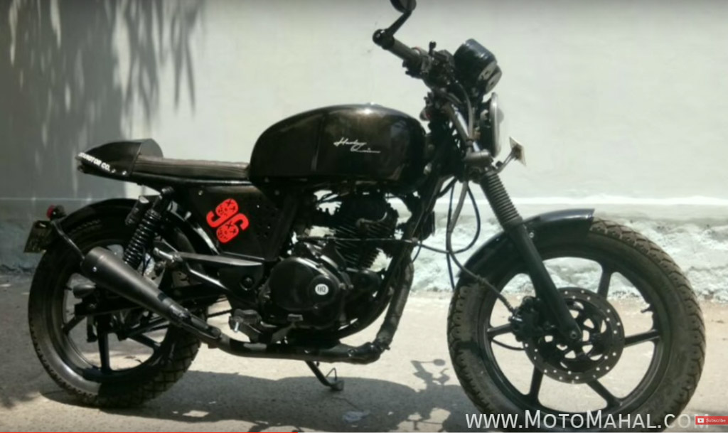 This Modified Bajaj Pulsar 180 Into Cafe Racer Is Simply