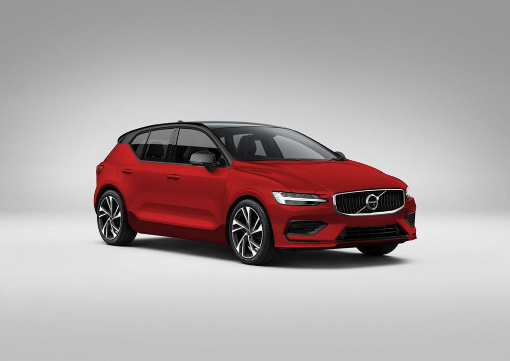 Next Generation Volvo V40 Rendered
