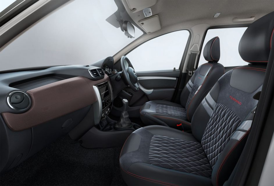Nissan Terrano_SPORT_Interior