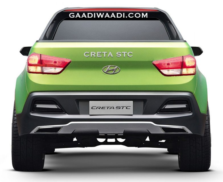 Production Hyundai Santa Cruz Pickup Rendered 1