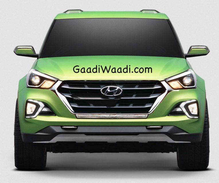 Production Hyundai Santa Cruz Pickup Rendered 2