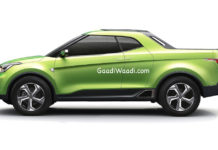 Production Hyundai Santa Cruz Pickup Rendered