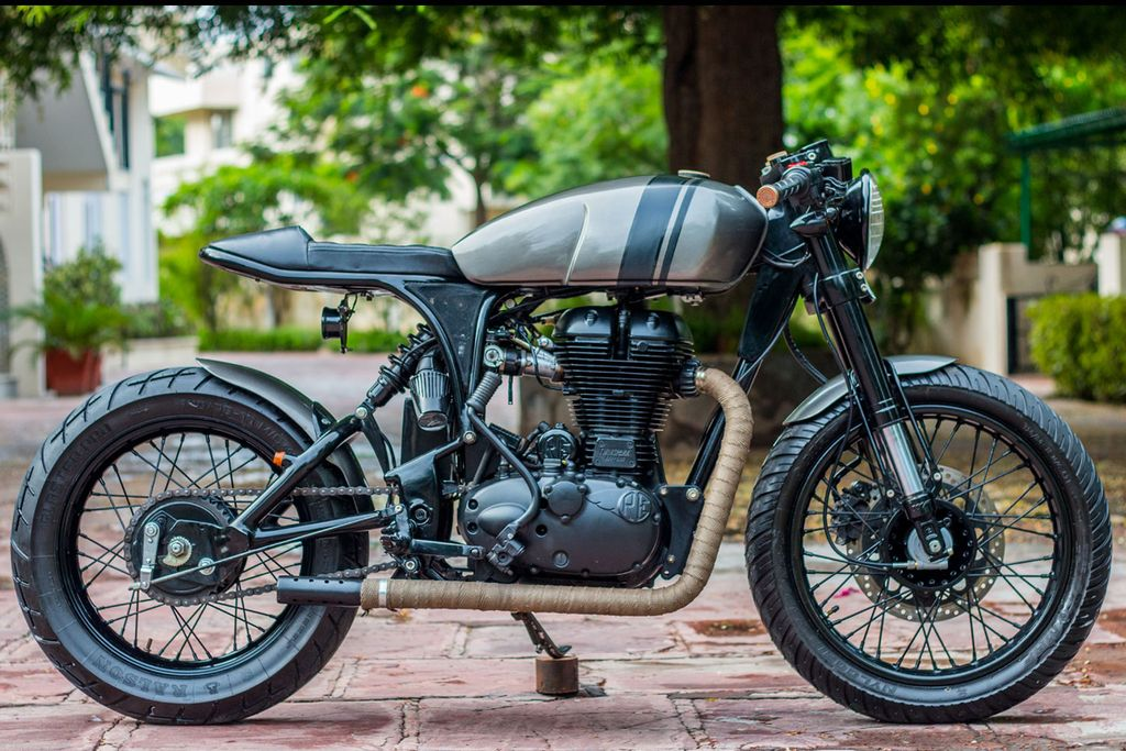 Meet The Royal Enfield Classic 500 Turned Gorgeously Into a