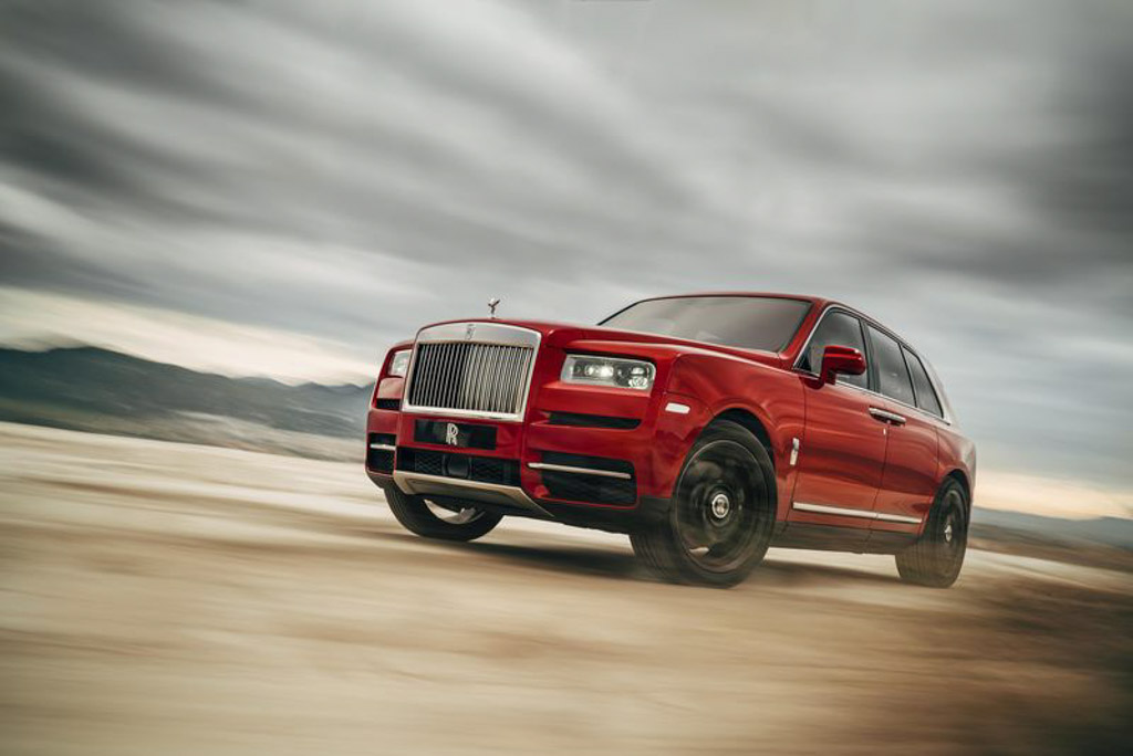 A peek at US$325000 Rolls-Royce Cullinan