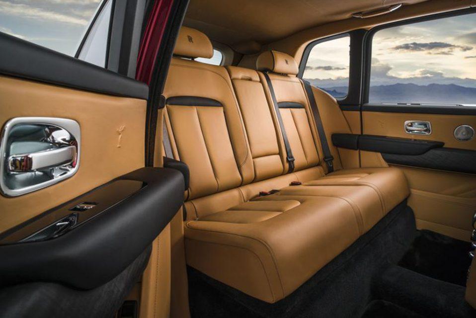 Rolls-Royce Cullinan Rear Seat