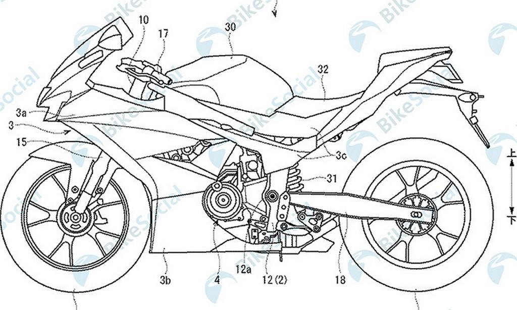 Suzuki-GSX-R300-Patent-leaked