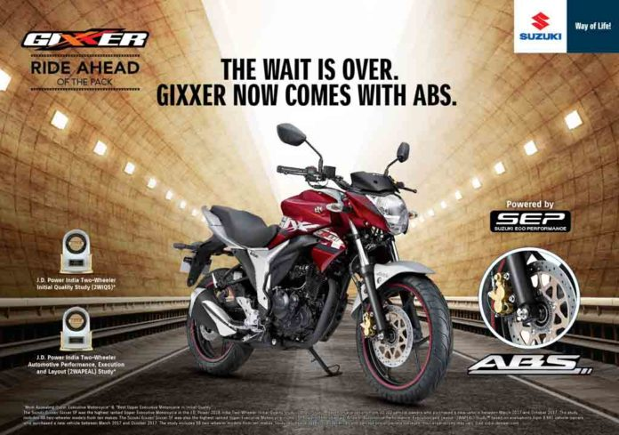 Suzuki Gixxer ABS_Glass Sparkle Black