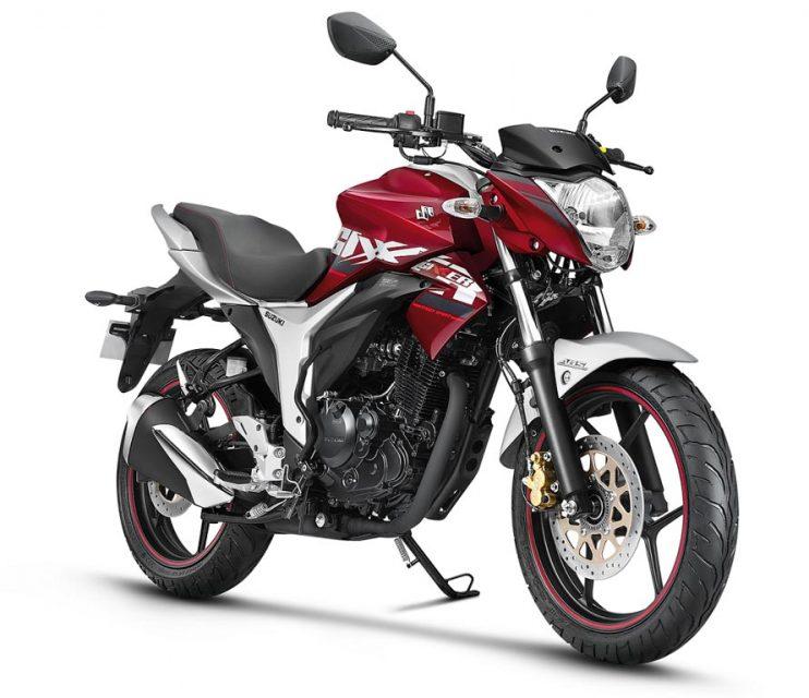 Suzuki Gixxer ABS_Candy Sonoma Red_Metallic Sonic Silver