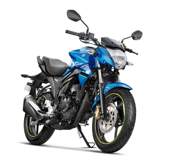 Suzuki Gixxer ABS_Metallic Triton Blue_Glass Sparkle Black