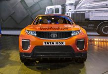 TATA H5X SUV RENDERED FRONT
