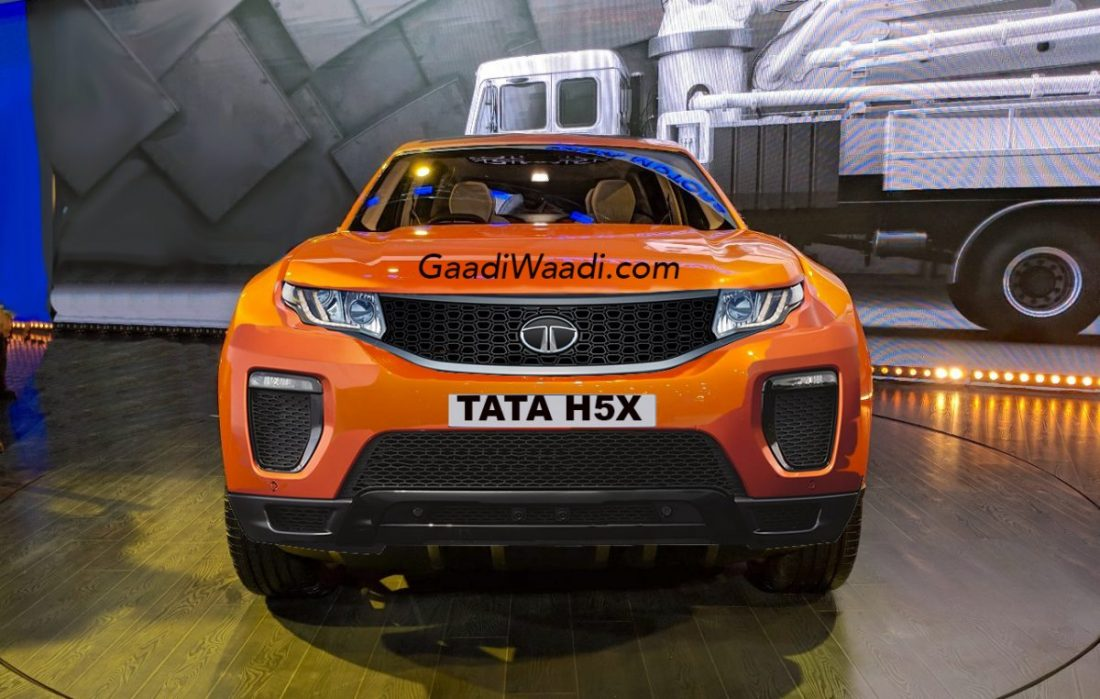 Tata Harrier SUV ahead of its scheduled January 2019 launch