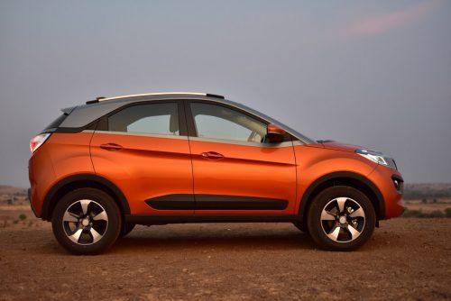 Tata Nexon AMT Side Profile