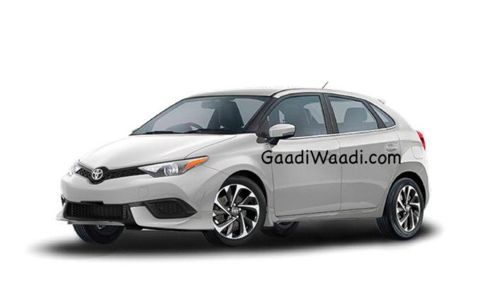 Upcoming Toyota Premium Hatchback Based On Maruti Suzuki Baleno (toyota badged baleno price)