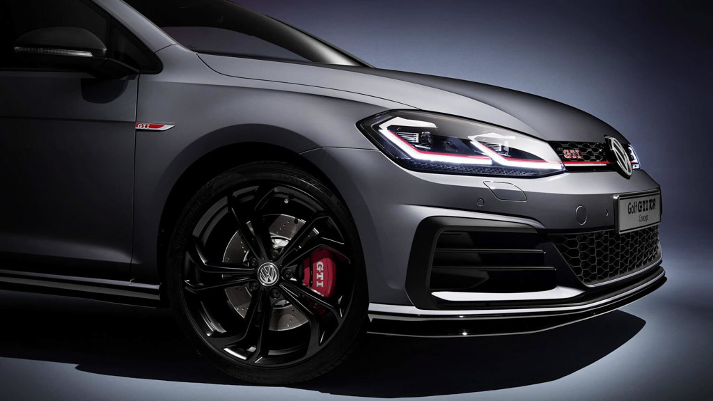 Volkswagen Golf GTI TCR Concept Front