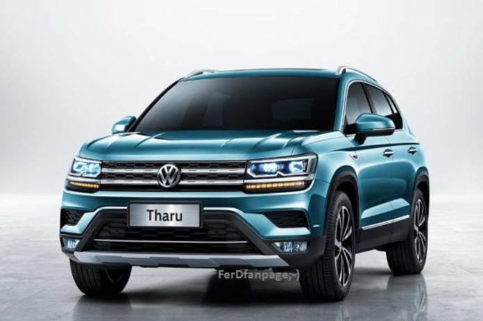 Volkswagen Tharu (Rebadged Karoq) Official Images Leaked Online