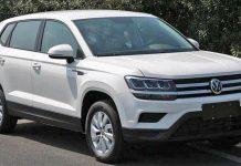 Volkswagen Tharu SUV Front
