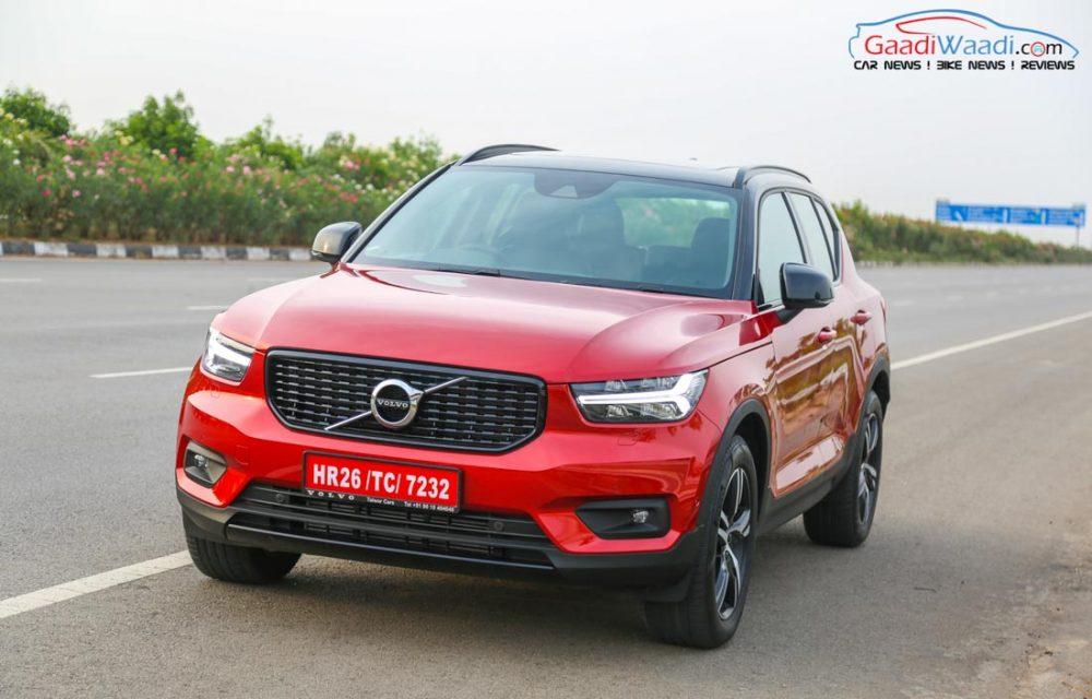 Volvo XC40 SUV R-DESIGN RED India-10